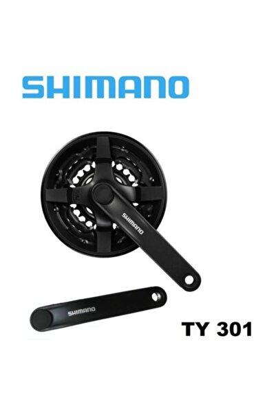 Shimano Tourney Fc-ty 301 Aynakol 48/38/28t Stk0000873