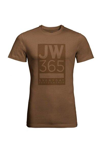 Jack Wolfskin 365 Tee Erkek T-shirt - 1806621-5129