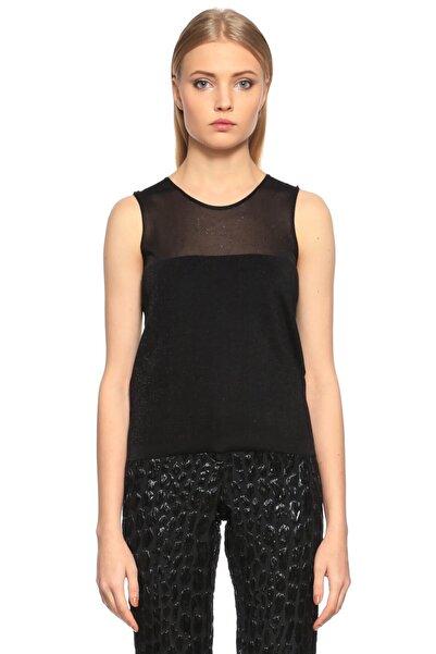 Lanvin Kolsuz Siyah T-shirt