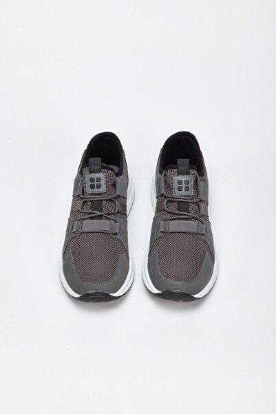 Avva Erkek Gri Spor Ayakkabı A02y8014