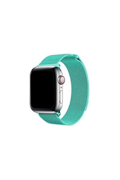 zore Apple Watch 42-44 Mm Metal Hasır Kordon