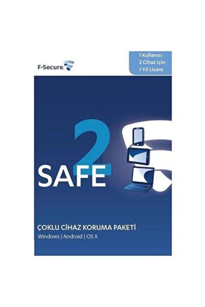 F-Secure 1 Kullanıcı 2 Cihaz 1 Yıl Lisans (windows - Android - Os