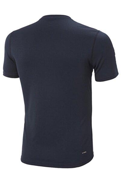 Helly Hansen Techt Erkek T-shirt Lacivert