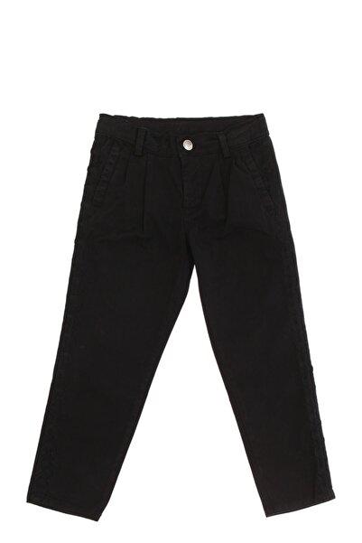 PİNKO Işleme Detaylı Siyah Kız Çocuk Pantolon