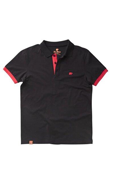 Bad Bear Siyah Erkek Tişört Rım Pıque Polo Nıght (19.01.07.036-c01)