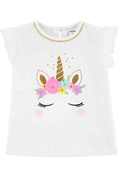 Carter's Kız Bebek Tshirt - Pw