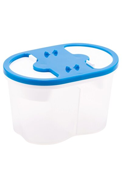 Bigpoint Fırça Yıkama Su Kabı 2 Bölmeli Mavi