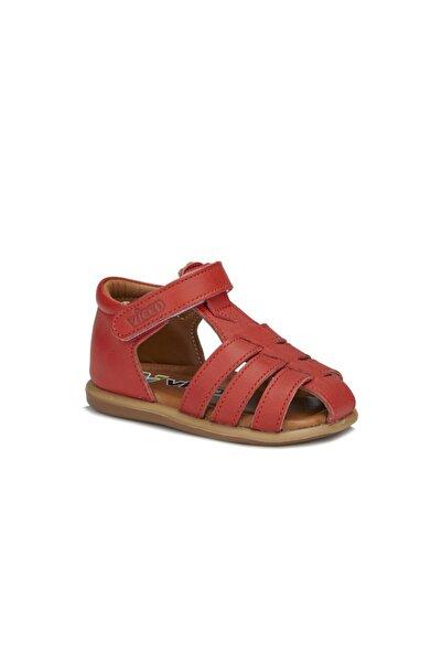 Vicco Junior Unisex Ilk Adım Kırmızı Sandalet