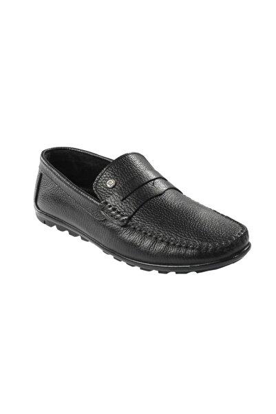 Pierre Cardin Siyah Deri Erkek Ayakkabı 10059