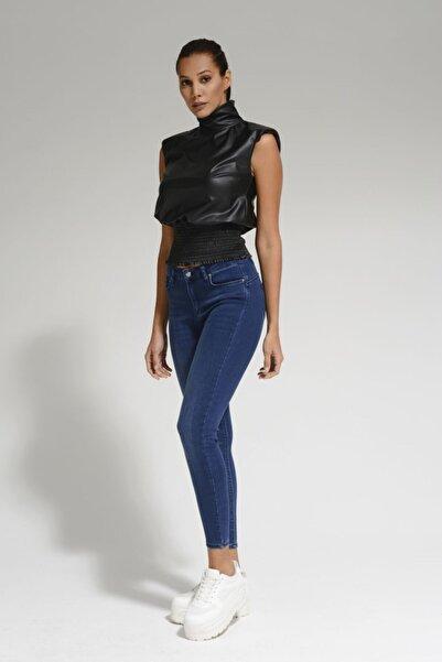 Batik Lacivert Kadın Jean Pantolon A1085
