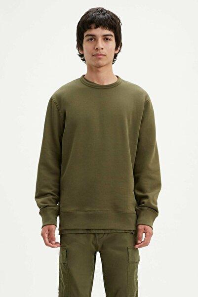 Levi's Erkek Haki Sweatshirt 17895 17895-0093