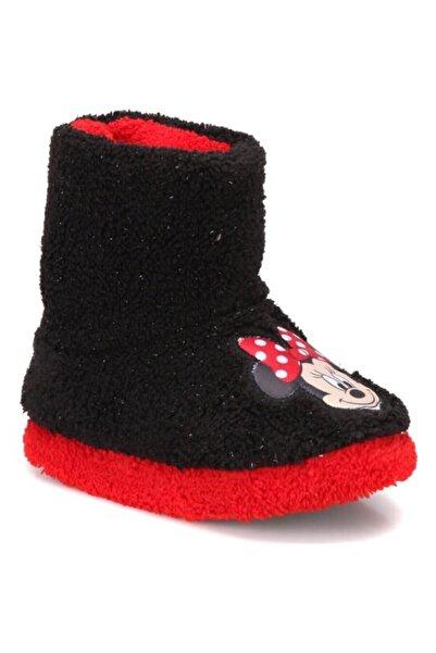 Mickey Mouse Minnie Mouse Kız Çocuk Panduf Kreş Ev Ayakkabısı