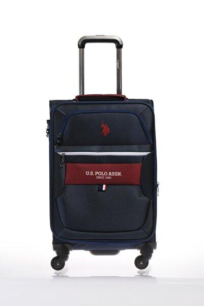 U.S. Polo Assn. Unisex Lacivert  Kabin Boy Valiz PLVLZ9012C