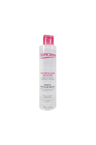 Topicrem Gentle Cleansing Water Face And Eyes 200 ml