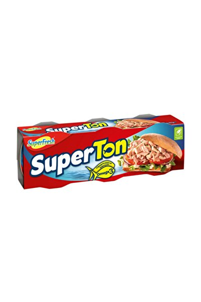 SuperFresh Superton Ton Balığı 3x80 Gr