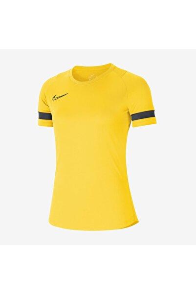 Nike Kadın Sarı Academy21 Tişört - Cv2627-719