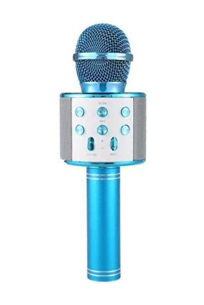 Anka Karaoke Mikrofon Bluetooth Hoparlör Aux Usb Mikro Sd Kart Girişli