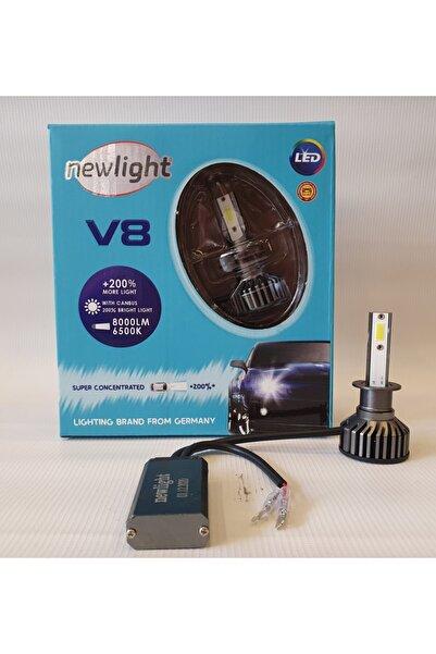 NEWLIGHT H1 Led Xenon Kit Kısa Fanlı Ve Şimşek Etkili Newlight V8
