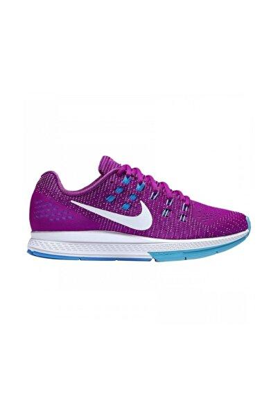 Nike Unisex Mor Air Zoom Structure Koşu Ayakkabısı 806584-500