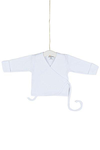 Aziz Bebe Bebek Kendinden Eldivenli Beli Kuşaklı Dış Zıbın Yeni Doğan Azz055028