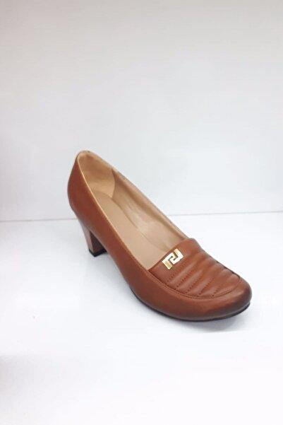 PUNTO Kadın Kahverengi Klasik Ayakkabı