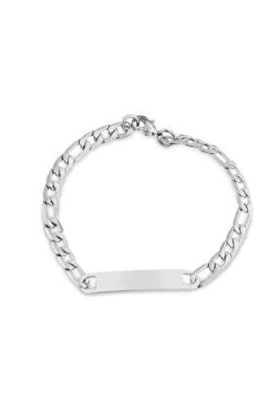 Unisex Gümüş Çelik Künye Tmj10800-900-a
