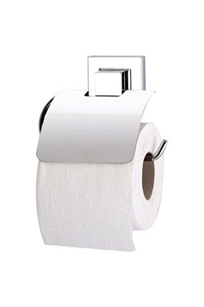 DELMEYE SON Yapışkanlı Metal Kapaklı Tuvalet Kağıtlık