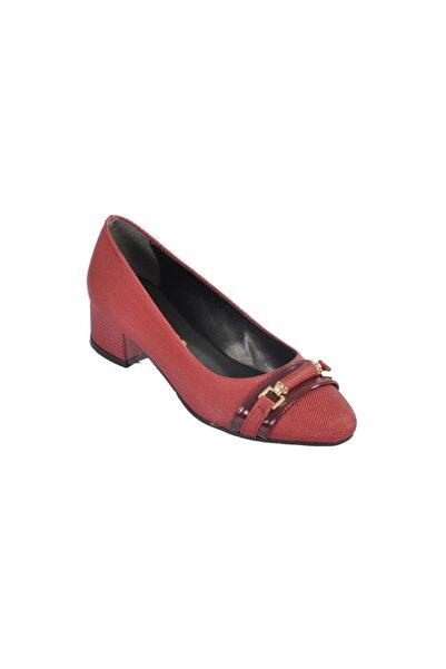 Maje Kadın Bordo Topuklu Ayakkabı 6067