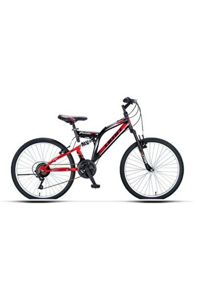 Ümit Bisiklet New Ümit 2651 26 Jant 21 Vites Pegretta Amortisorlu Dag Bisikleti - Kırmızı-siyah - 2021 Model