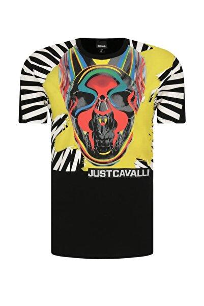 Just Cavalli Erkek Beyaz T-shirt S03gc0613