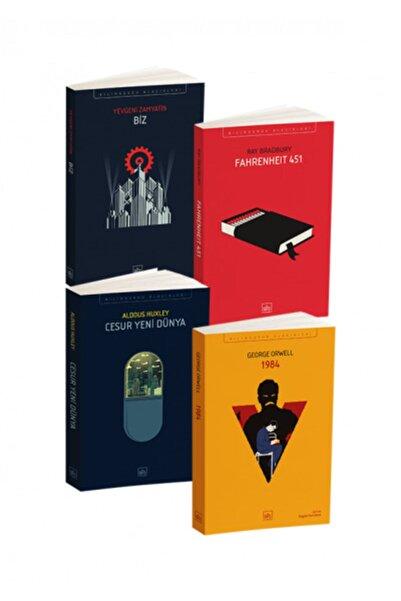 İthaki Yayınları Kara Dörtleme Cesur Yeni Dünya, 1984, Biz, Fahrenheit 451