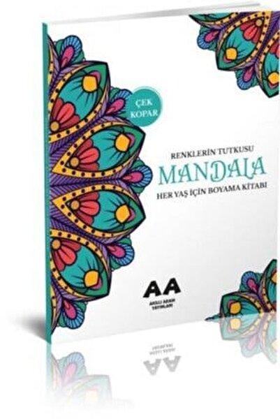 Mandala Renklerin Tutkusu Her Yaş Için Boyama Kitabı