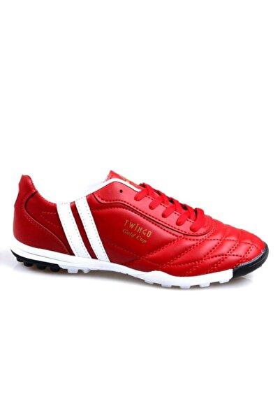 Twingo 134 Erkek Kırmızı Halı Saha Futbol Ayakkabı
