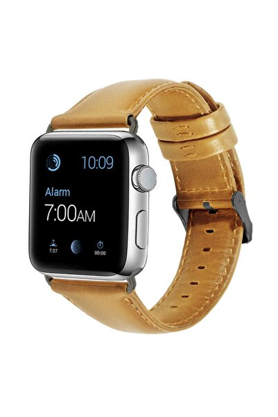 zore ???apple Watch 38mm Luxury Leather Deri Kordon No3