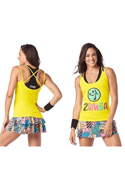 ZUMBA Kadın Sarı Spor Atlet