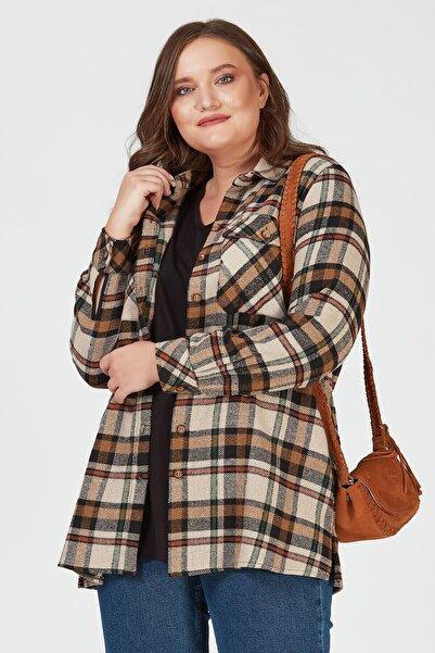 Büyük Moda Oduncu Ekose Gömlek/ceket