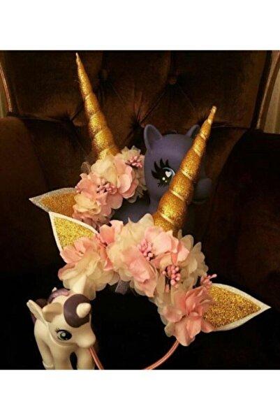 Kokoş Unicorn Taç Özel Tasarım Doğum Günü Saç Aksesuarı