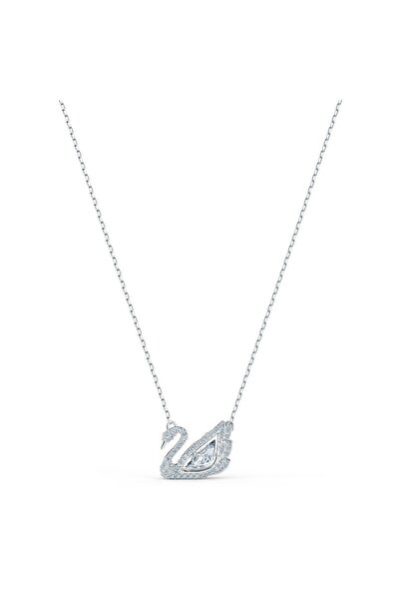Swarovski Kolye Dancing Swan-necklace Czwh-rhs 5514421