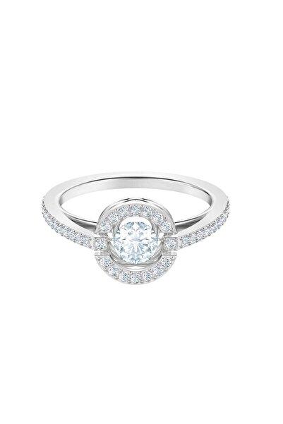 Swarovski Kadın Yüzük Sparkling Dc:Ring Rnd Czwh/Rhs 55 5465280