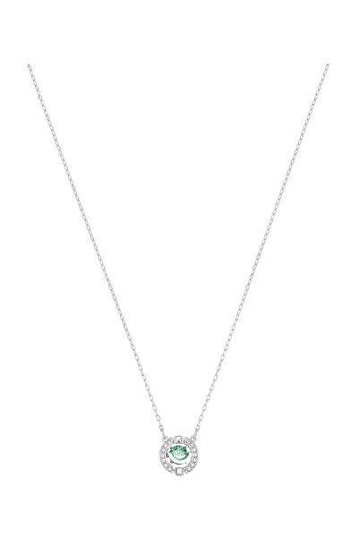 Swarovski Kolye Sparkling Dc:Necklace Green Czfg/Cry/Rhs 5496308