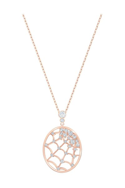 Swarovski Kolye Precisely:Pendant Web Czwh/Cry/Ros 5488405