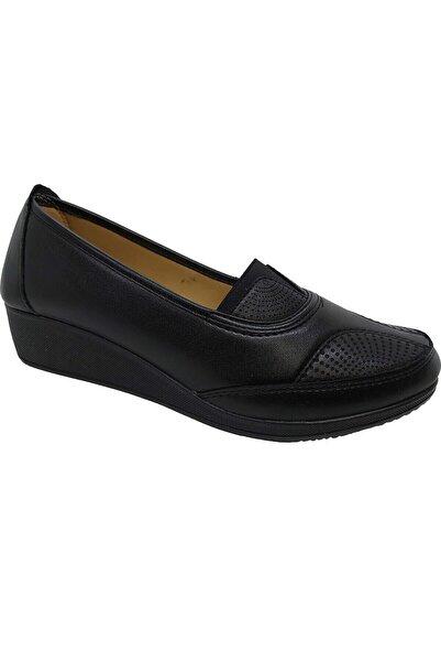 ODESA Pabucchi 0152 Ayzen Siyah Kadın Ayakkabı