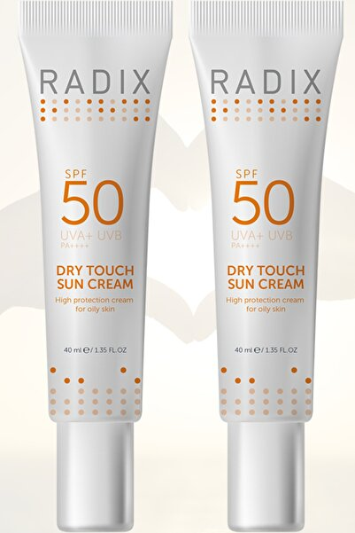 Radix 2 Adet Dry Touch Sun Cream Spf 50 40 ml 2 Adet 8681877436011