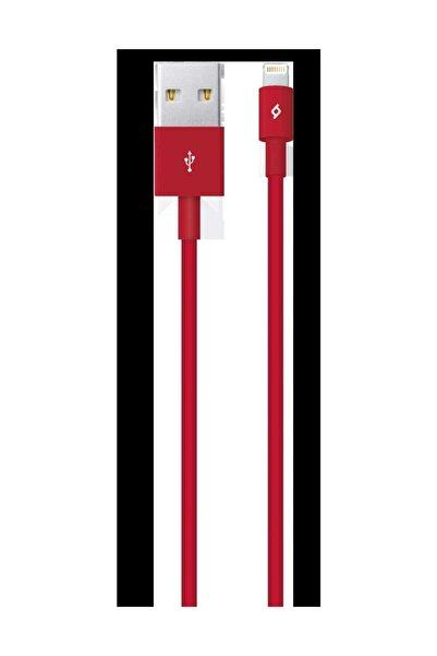 Ttec 2dk7508k Iphone Uyumlu Kırmızı Şarj Data Kablosu