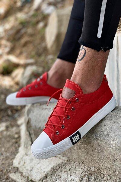 twentyone Unisex Kırmızı Triko Sneaker Spor