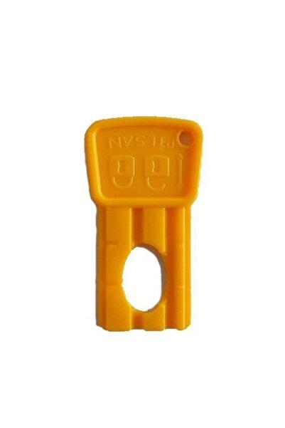 PİLSAN Akülü Araba Kartlı Kontak Anahtar Sarı