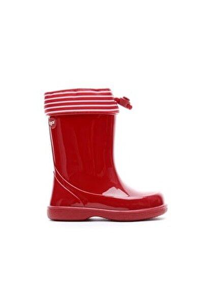 Kırmızı Çocuk Yağmur Çizmesi