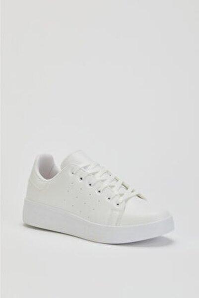 Unisex Beyaz Sneaker Ayakkabı Svt21