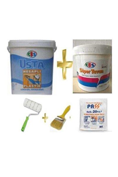 Çbs Plastik Boya 20 Kg + 10 Kg Tavan + Yardımcı Ürünler