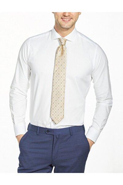 Bisse Regular Fit Dokulu Italyan Yaka Gömlek